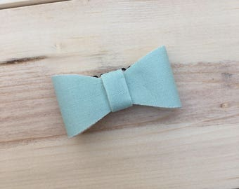 Sassy mint hair clip