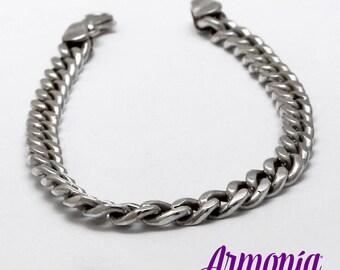 Bracelet silver unisex 950 grumet