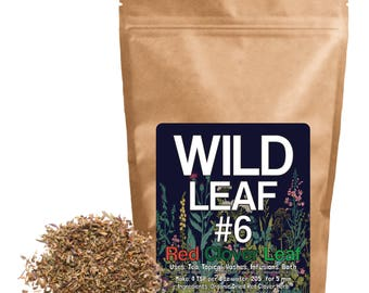 Wild Leaf #6 Red Clover Herb (4 ounce)