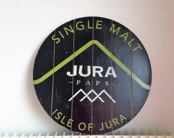 Scotch - whisky Jura whisky - wood - vintage advertising
