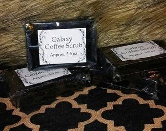 Galaxy Coffee Scrub Soap