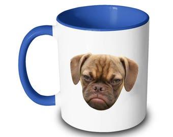 Mean Puppy Dog Mug Pissed Off Doggo Coffee Mean Mug