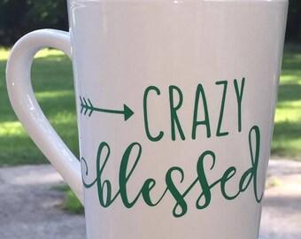 Crazy Blessed Mug
