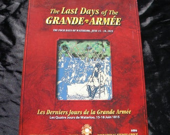 Napoleonic War Military Stategy Board Game - The Last Days of the Grand Armee