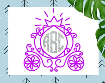 Princess svg Cab Birthday Princess svg Birthday cut file svg files for Cricut Silhouette cutting files