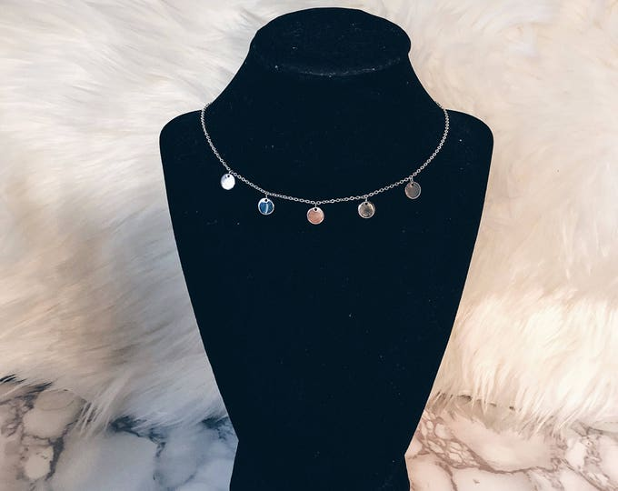 Featured listing image: 5 Meals Necklace (silver)