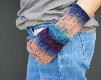Mittens Fingerless Armwarmers Gloves