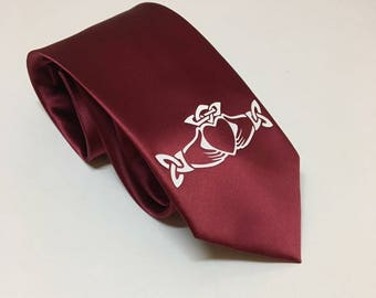 Claddagh, Love, Loyalty and Friendship Necktie