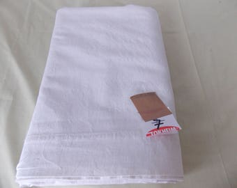 Vintage French Linen/metis Slubby Sheet