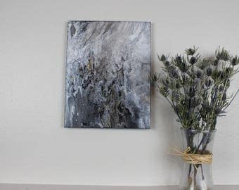 "Acrylic Fluid Painting ""Lupus"" 11""x14"""