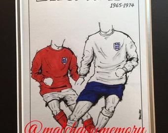 England Kit History: 1965 - 1992
