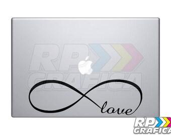 Infinite Loop Laptop MacBook Decal Sticker Love Symbol Gifts