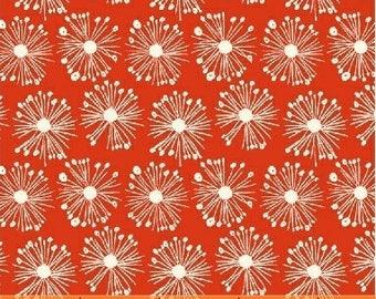 Organic fabric, Windham handpicked fabric, Red organic fabric, organic baby fabric, Modern organic fabric