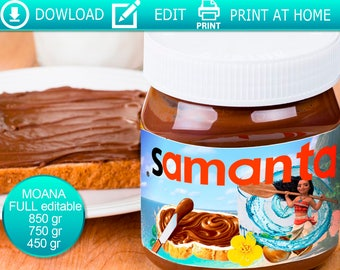 how to get a personalised nutella jar
