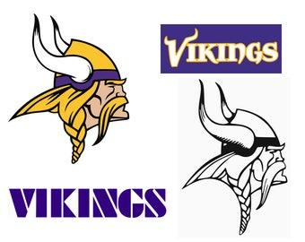 Minnesota Vikings Svg Files, Pdf, Eps, Dxf,Png, Minnesota Vikings SVG Cuttable, Instant Download, Cutting files