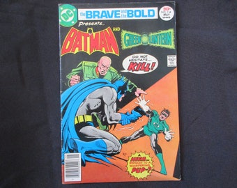 The Brave and The Bold #134 (Teams Up With Green Lantern) 1977