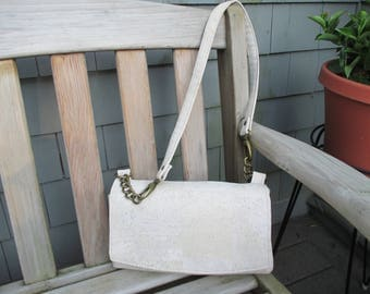 Cork Purse, Cork Handbag, Cork Shoulder Bag by DarkHorsesDesign