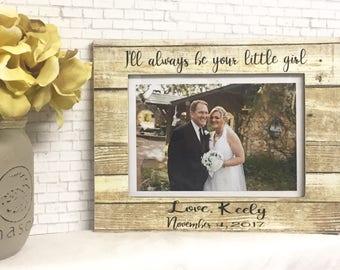 Father of the bride frame, wedding frame, dad frame, personalized frame, personalized dad gift, personalized wedding, daughter to dad gift