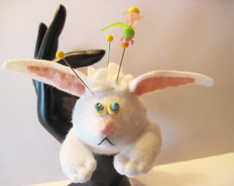 Honey Bunny Finger Pincushion