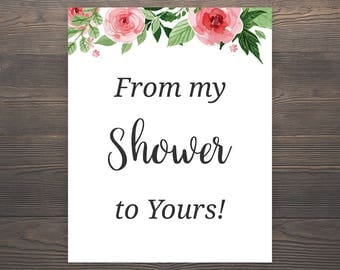 Witty image intended for from my shower to yours printable