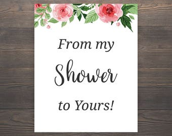 Influential image regarding from my shower to yours printable