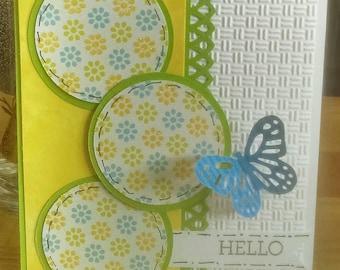 "Happy ""Hello"" Card"