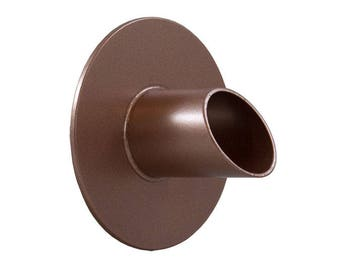 "Waverly 1.5"" Round Water Spout - Copper"
