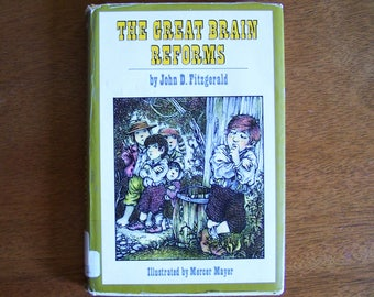 The Great Brain Reforms by John D Fitzgerald - Hardcover - Older Reader Children's Book - # 5 Great Brain Series