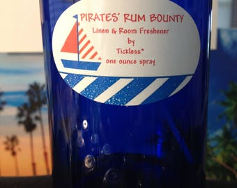 PIRATES' RUM BOUNTY Linen & Room Freshener by Tickless* one ounce