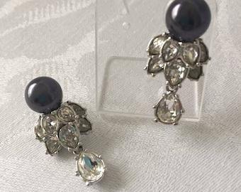 Elizabeth Taylor Designer Drop Earrings