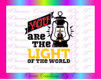 you are the light SVG