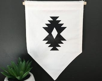 Aztec hanging wall banner