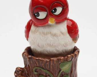 Owl on Tree Salt and Pepper Shaker Set (10908)
