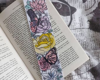 Flowers and Souls Bookmark