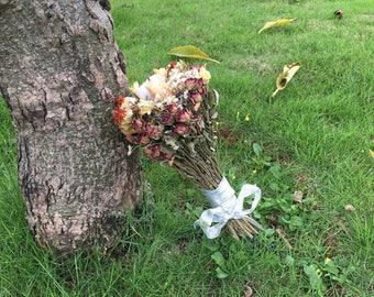 Wedding Dried Flowers Bouquet