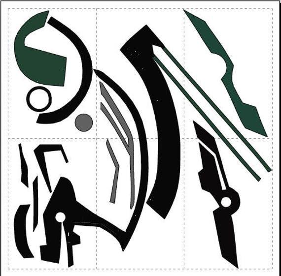 Thor Ragnarok Helmet Pepakura Foam File From Hyprozstudio