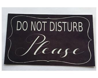 Do Not Disturb Sign Door Room Wall Hanging Business Parent Retreat