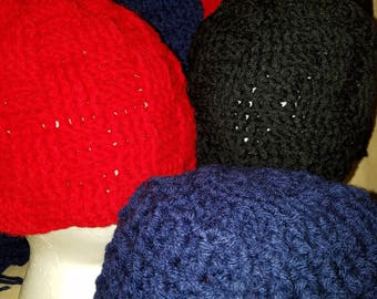 Textured Hat and Scarf Sets