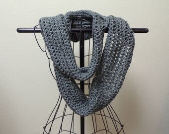 Ladies Hand Crocheted Scarf