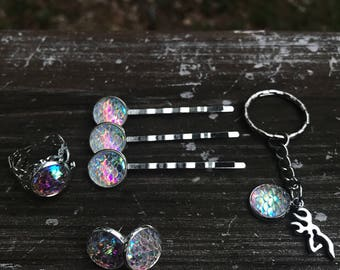 Mermaid scale set