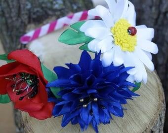 Sumer flower hairband