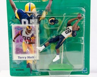 Starting Lineup NFL 2000 Torry Holt Action Figure St. Louis Rams