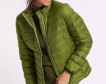 Padded Down & Feather Jacket with Stormwear, Stormwear Feather Padded Down Jacket