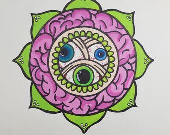 Original Eye Mandala