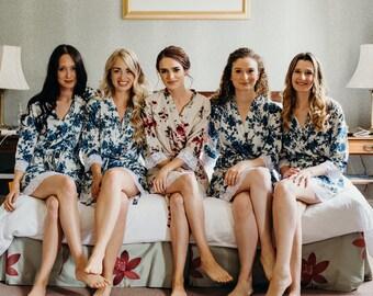 Set of 11 Bridesmaid Robes, bridesmaid robe, bridesmaid robes set of 11, 11 bridesmaid robes, Set of 11 bridal party robes, bridesmaid robes