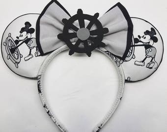Steamboat Willie mickey ears!!