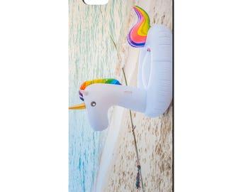 Unicorns Beach Holiday Horse Soft TPU iPhone Case 5 5S SE, 6 6S & 7