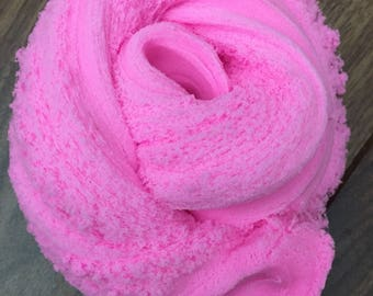 Barbie cloud dough slime