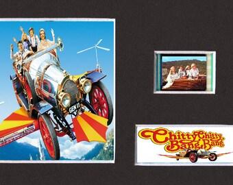 "Chitty Chitty Bang Bang Replica Film Cell Presentation 6x4"""