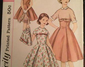 Vintage 50's  Simpliciy Pattern #1870